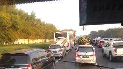 Tol Cikampek-Karawang Padat Merayap, Kecepatan 40 Km/jam