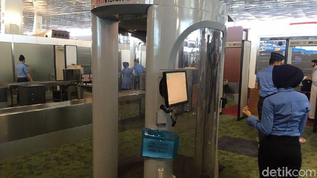 Ombudsman Kritik Penggunaan Body Scanner Acak di Bandara Soetta
