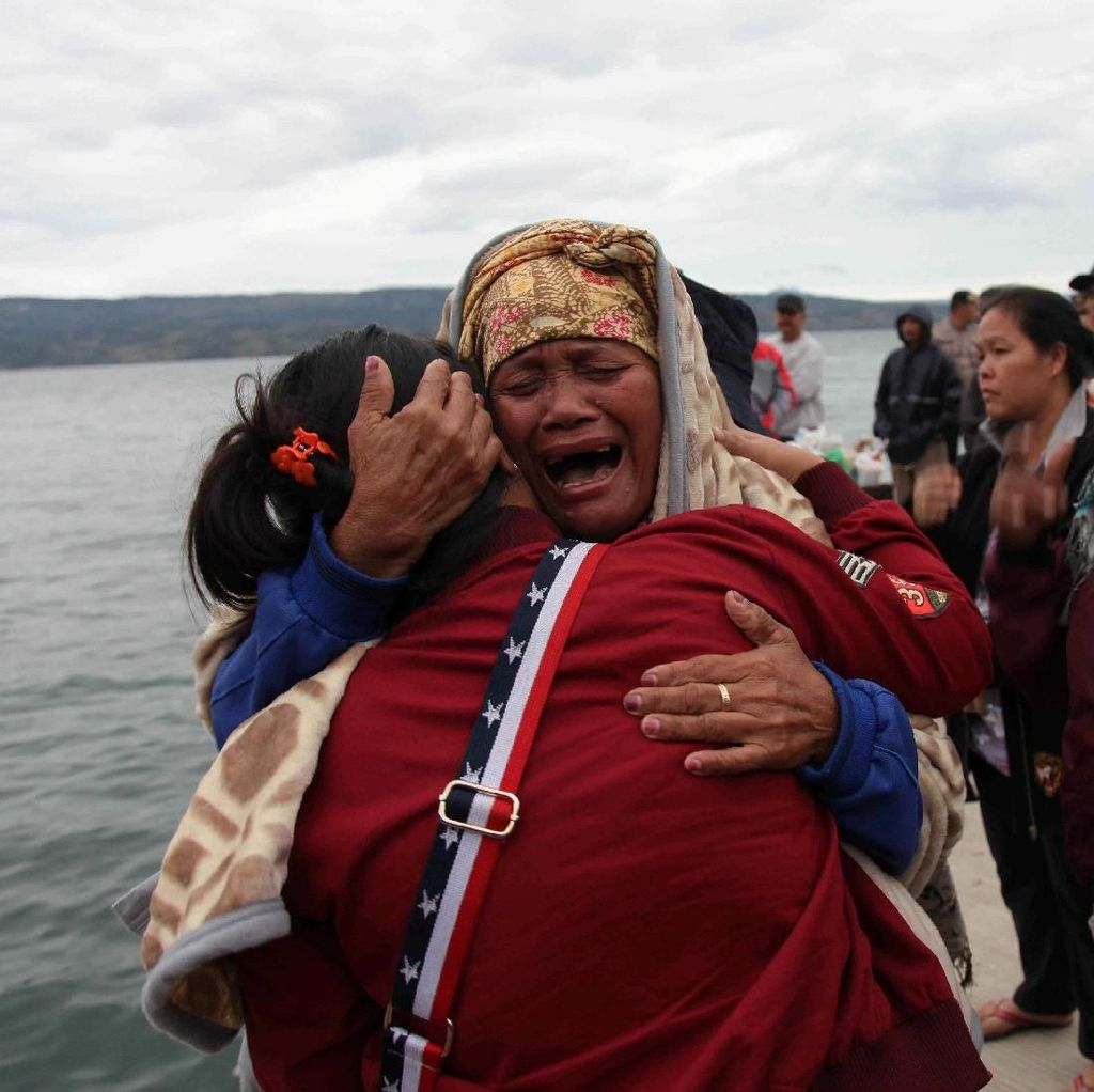 Ini Data Korban Selamat dan Hilang Kapal Tenggelam di Danau Toba