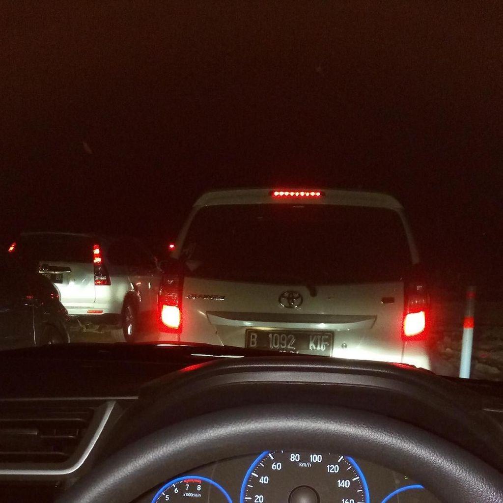 Kena Macet Jombang-Semarang, Anityo Habiskan 4 Jam Tempuh 16 Km