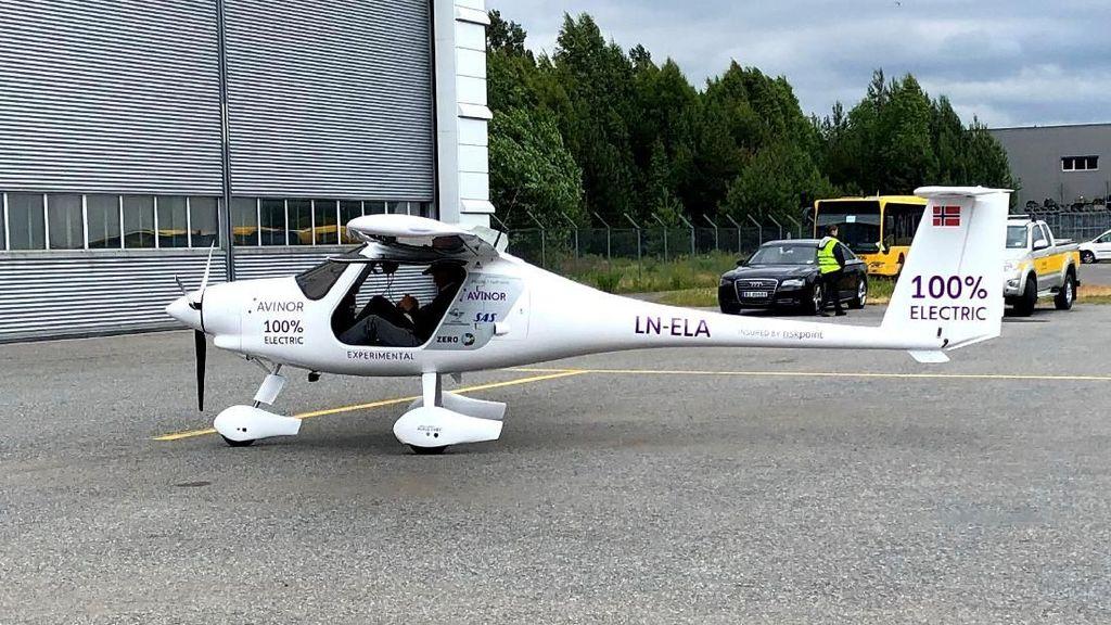 Norwegia Uji Coba Pesawat Listrik