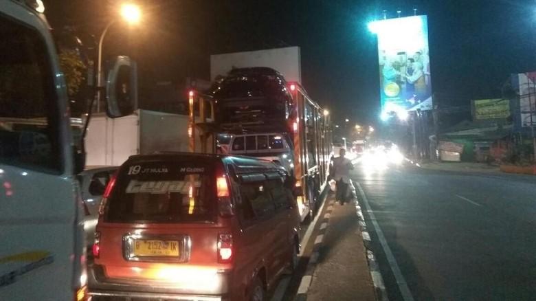 Imbas Tol Cikampek One Way, MM Bekasi ke Tambun Macet Parah