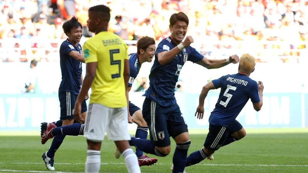 Highlight Full Time Kolombia Vs Jepang