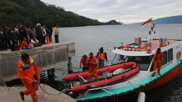 Pencarian KM Sinar Bangun, Robot Bawah Air Dikirim ke Danau Toba