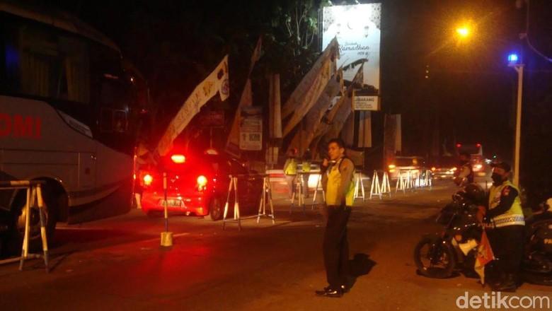 Urai Kemacetan di Banyumas, Polisi Berlakukan Contraflow