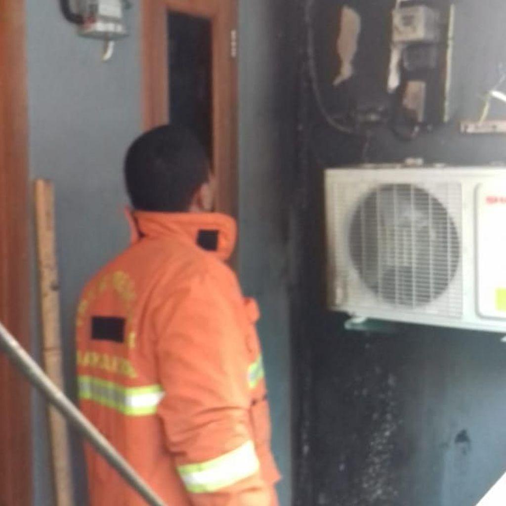 AC Lupa Dimatikan, Rumah di Pejaten Jaksel Kebakaran