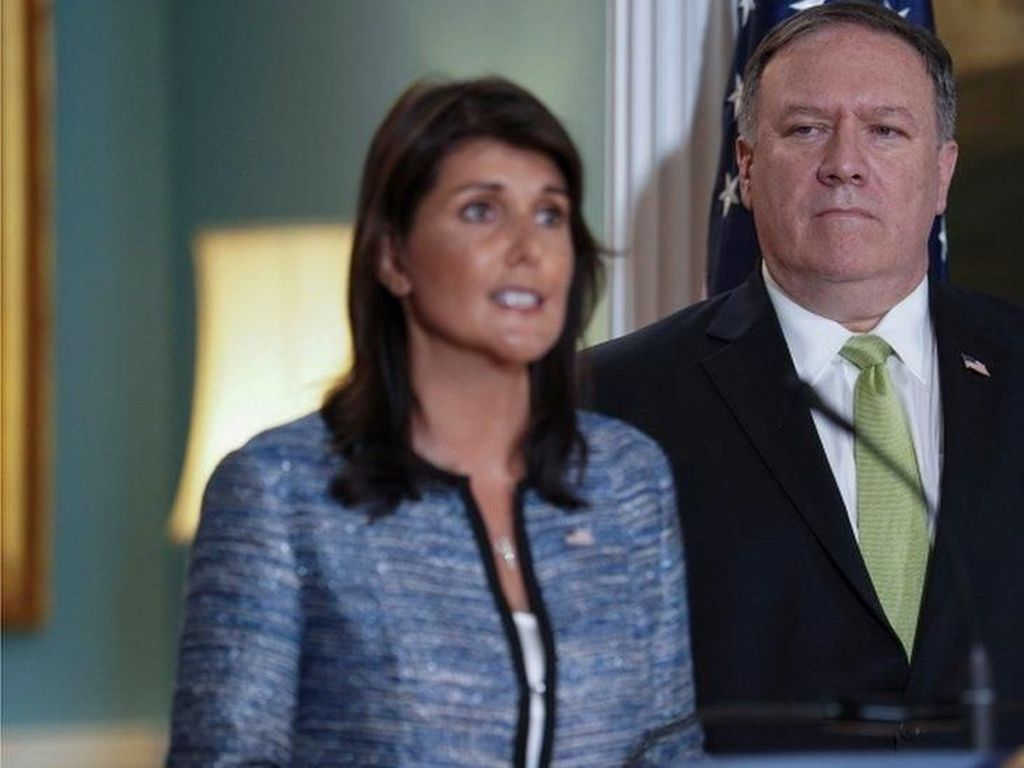 Tuduh Dewan HAM PBB Munafik, AS Hengkang dari Keanggotaan