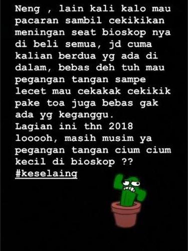 Melly Goeslaw Marah-marah di Instagram, Kenapa?