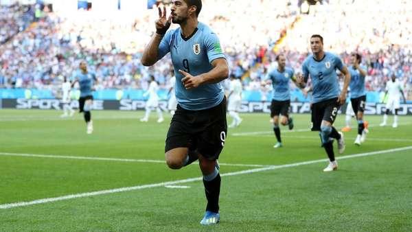 Kalahkan Arab Saudi, Uruguay Lolos ke Babak 16 Besar