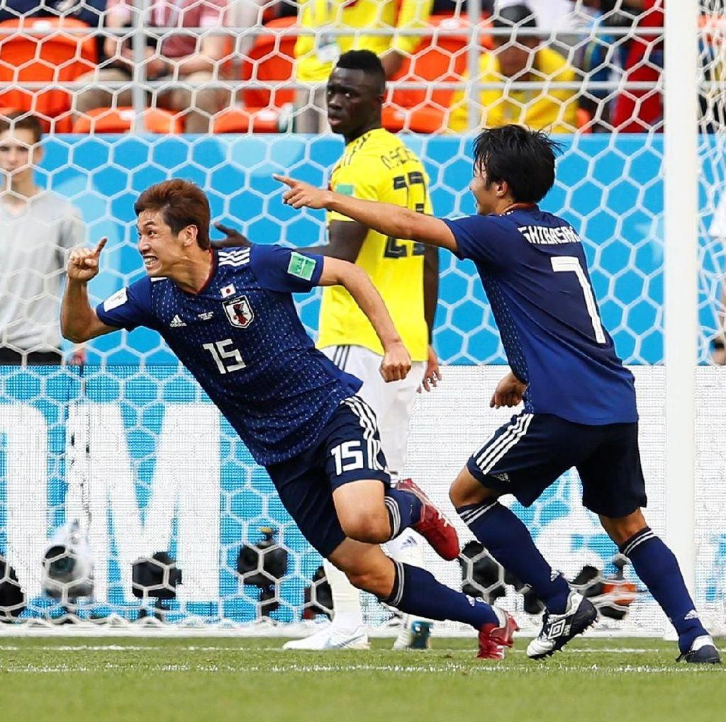 Kolombia Vs Jepang: Serba Pertama dari Tim Samurai Biru