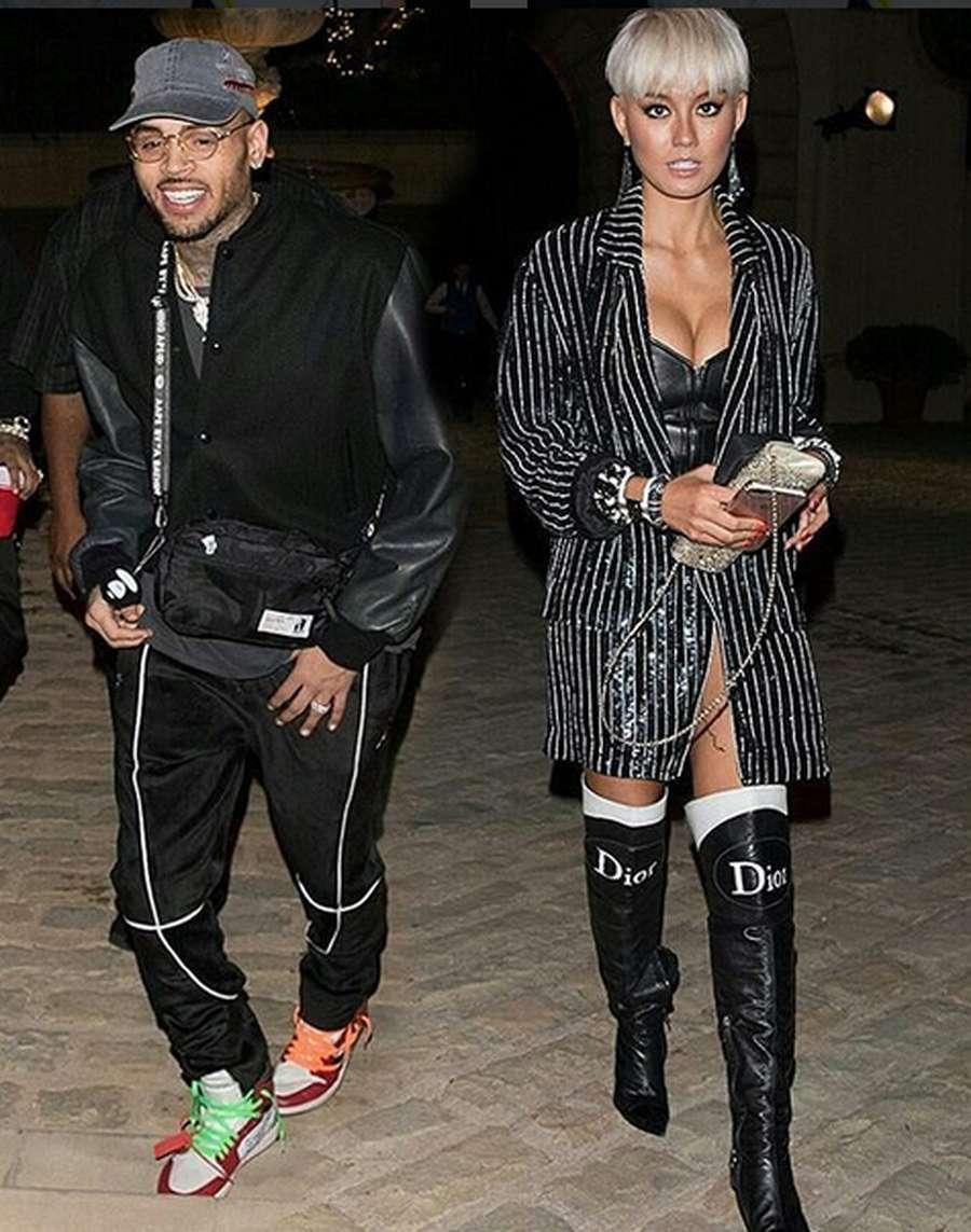 Intip Lagi Kemesraan Chris Brown dengan Agnez Mo