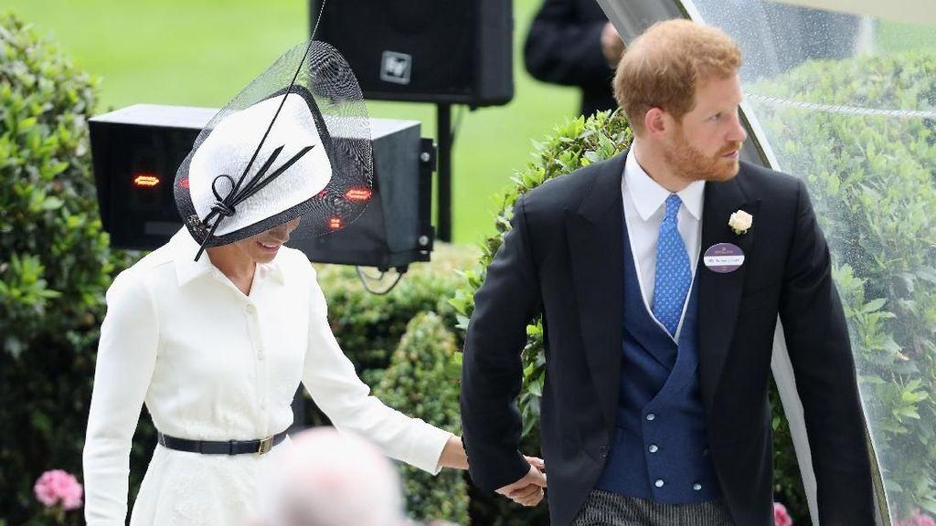 Mesra di Royal Ascot 2018, Harry-Meghan Langgar Aturan Lagi?