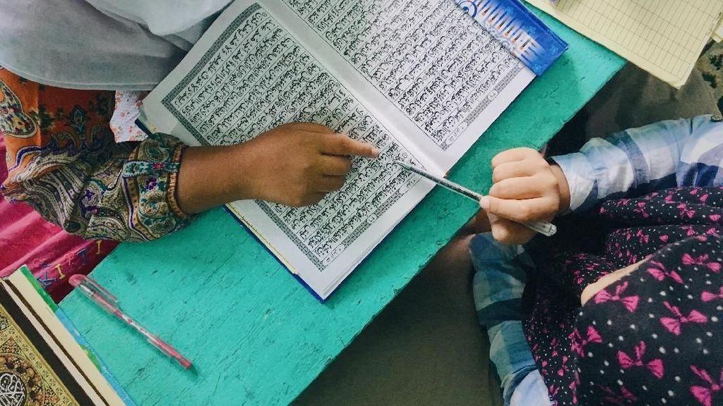Ngabuburit; Belajar Baca Alquran