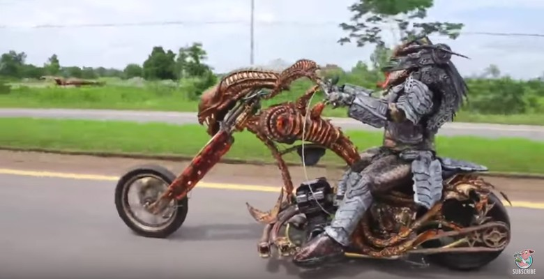 Modifikasi Motor Predator. Foto: Screenshot Youtube