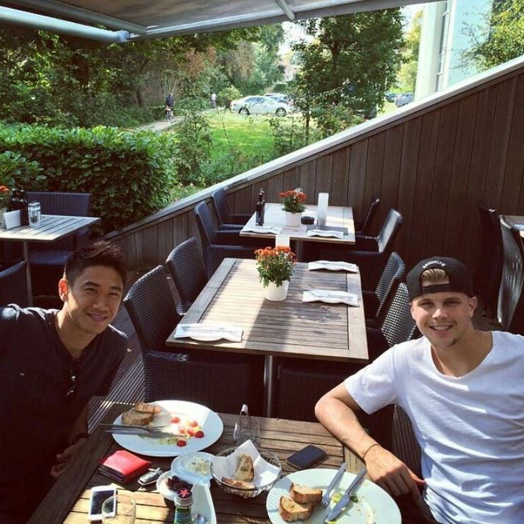 Cetak Gol Tercepat di Piala Dunia, Shinji Kagawa Ternyata Doyan Makan Udon