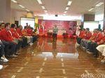 Hadiri Halalbihalal PKPI, Try Sutrisno Minta Kader Daerah Solid