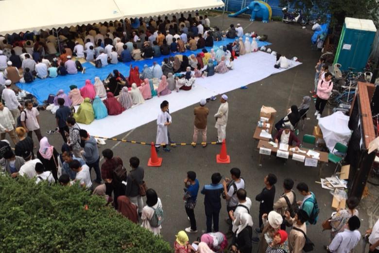 Syahdunya Idul Fitri di Cuaca Mendung Tokyo