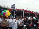 Menhub Sambut Pemudik Arus Balik Gratis dari Semarang