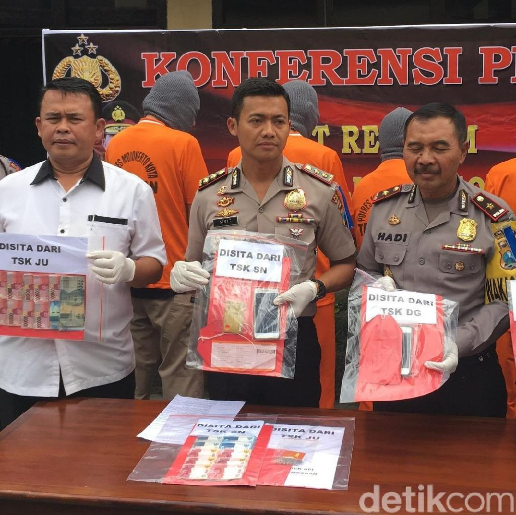 Toko Warna-Warni Mojokerto Sengaja Dibakar, Polisi Ringkus 4 Pelaku