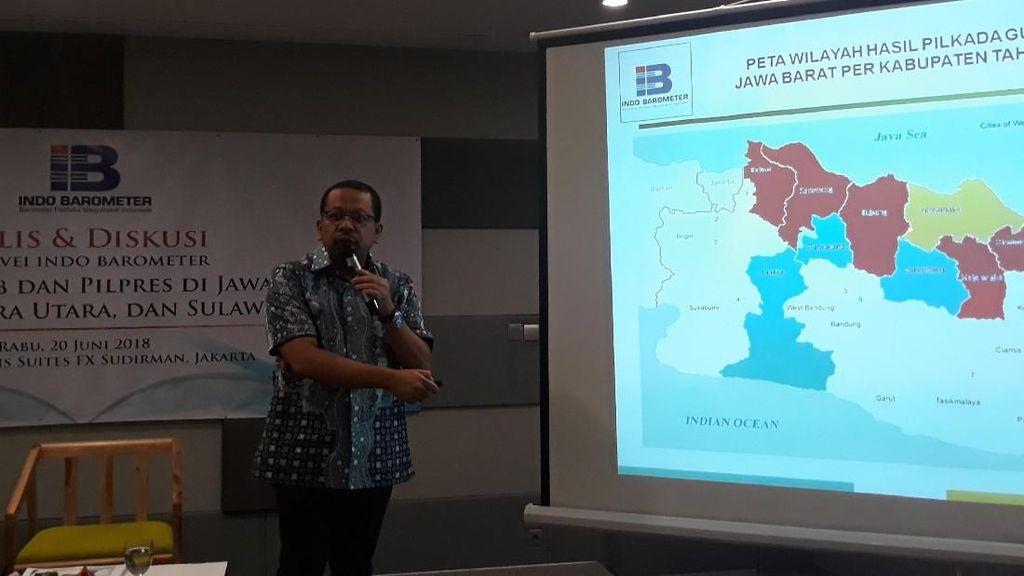 Tengok Hasil Survei Adu Kuat Cagub Jabar, Jateng, Jatim