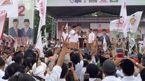 Kampanye Pilgub Sulsel, Prabowo: Rakyat Susah Cari Pekerjaan