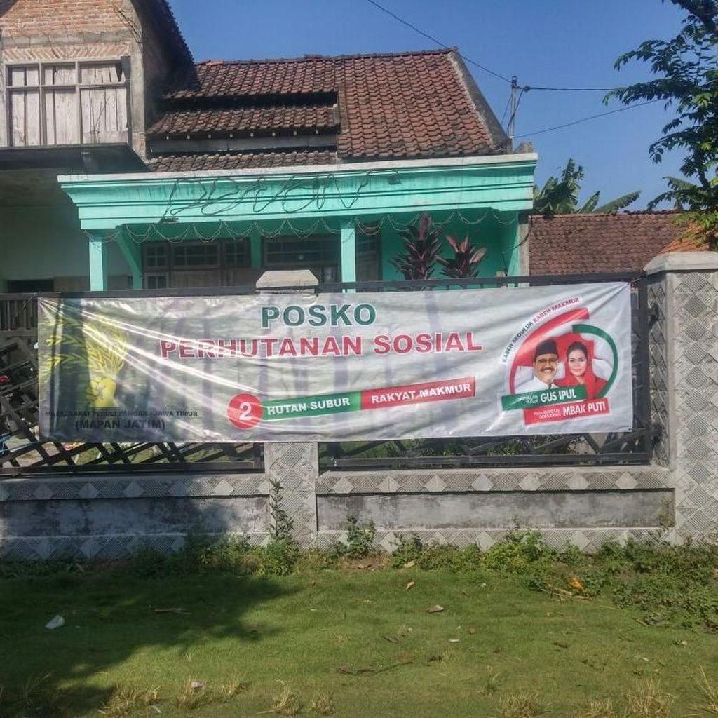 Posko Perhutani Sosial Dibentuk, Kampanyekan Program Gus Ipul-Puti