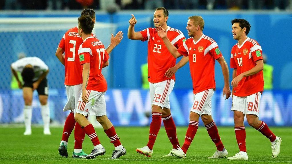 Rusia Vs Mesir: Rekor Produktivitas Gol Tuan Rumah