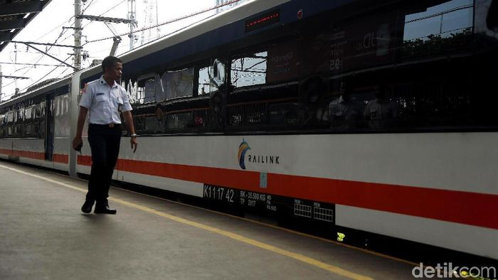 Kereta Bandara Soekarno-Hatta kini Sampai Bekasi, Foto: Rengga Sancaya