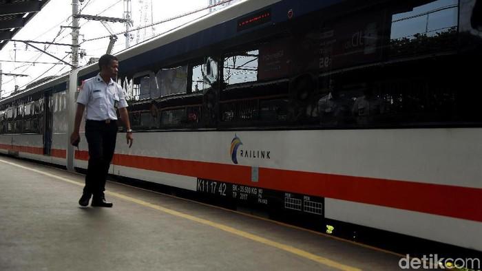 Kereta Bandara Soetta (Rengga Sancaya/detikcom)