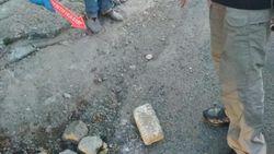 Ini Batu Conblock yang Lukai Bocah Rafa di Depok