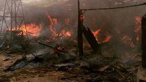 Rumah Kontrakan di Jaktim Terbakar, 12 Damkar Dikerahkan