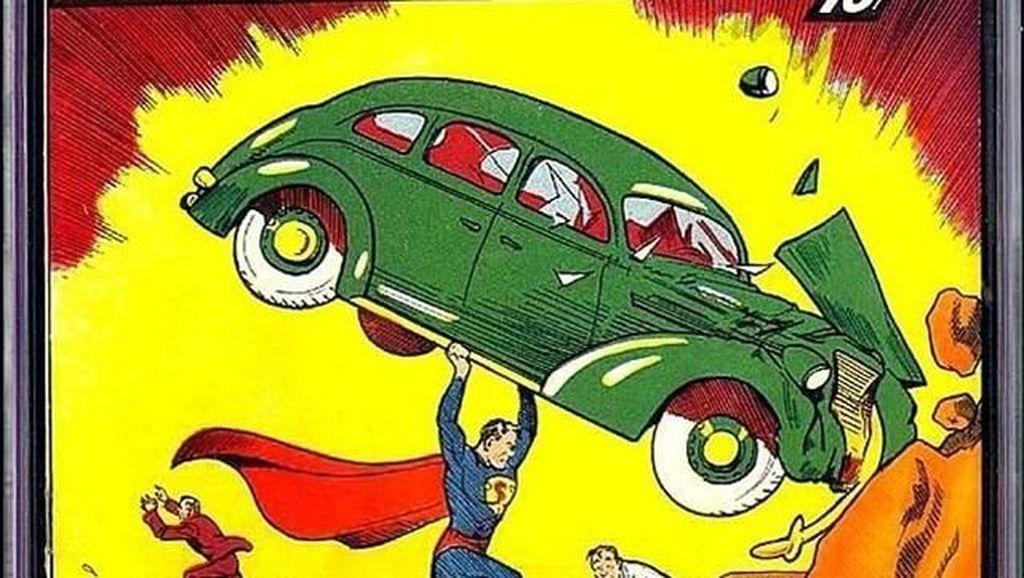 Fantastis! Penampakan Super-Man Pertama Kalinya Terjual Rp 28 M