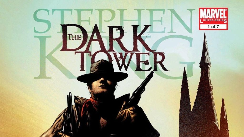 Novel Grafis Stephen King Dark Tower Cetak Ulang