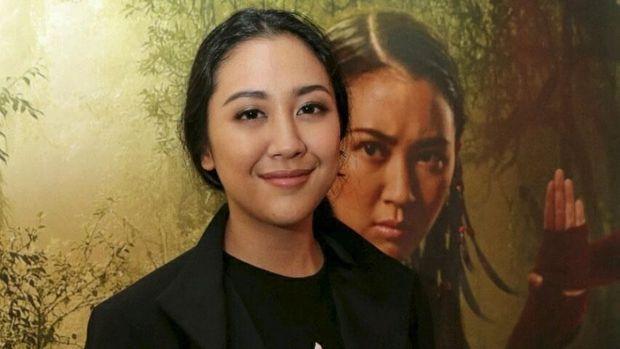 Sherina menjadi salah satu pemain film 'Wiro Sableng.'