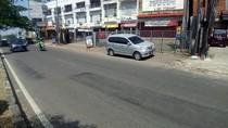 Lokasi Bocah Rafa Dilempari Batu Conblock di Jalan Juanda Depok