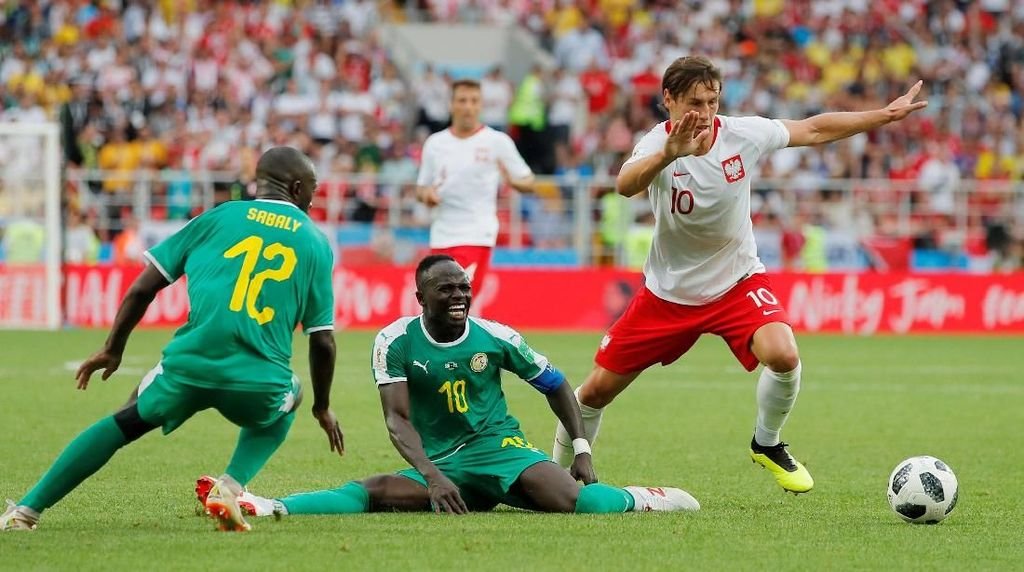 Highlight Full Time Polandia Vs Senegal
