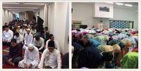 Suasana salat Idul Fitri di Masjid Indonesia Tokyo dan SRIT.