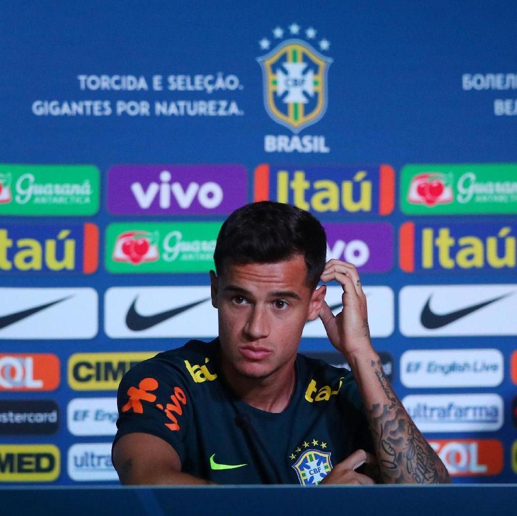Coutinho: Neymar Baik-Baik Saja Kok