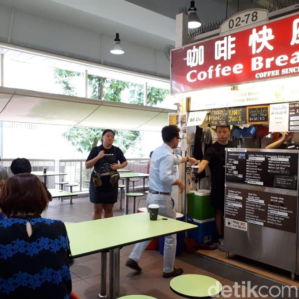 Slurp! Enaknya Sea Salt Caramel Latte Buatan Kopitiam Kekinian di Singapura