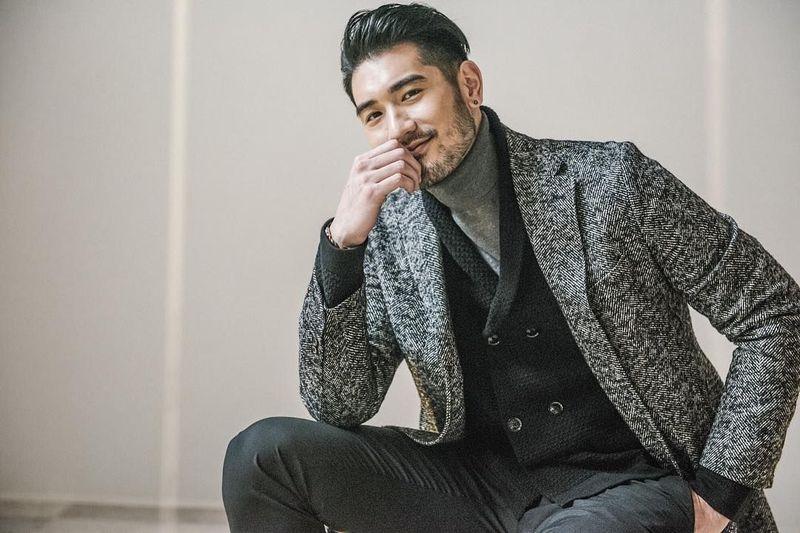 Yuk kenalan dengan aktor berwajah wajah tampan dari Taiwan, Godfrey Gao. Dia berdarah campuran, yaitu Kanadia dan Taiwan. (godfreygao/Instagram)
