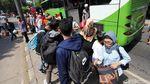 Arus Balik, 86.755 Pemudik Tiba di Terminal Kampung Rambutan