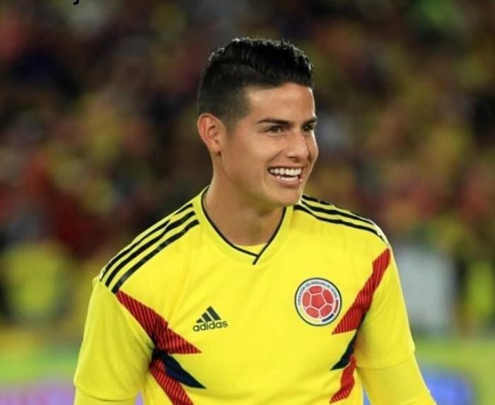 James David Rodríguez Rubio atau biasa dikenal dengan nama James Rodríguez memegang peranan penting dalam skuad Kolombia. Foto: Instagram @jamesrodriguez10
