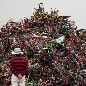 Mengintip Pemakaman Sepeda di China