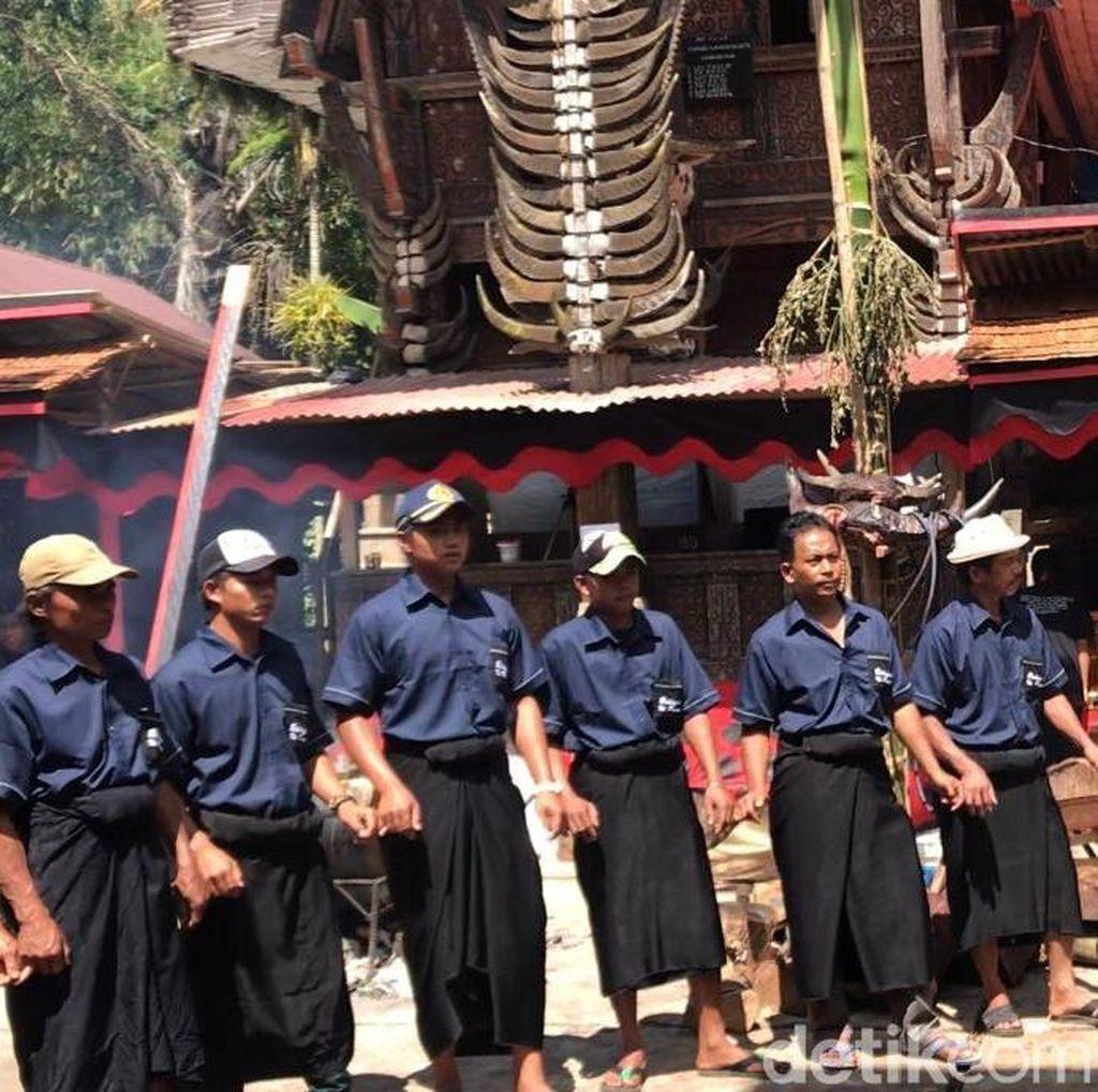 Mabadong, Upacara Kematian di Tana Toraja