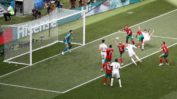 Manfaat sepak bola bagi kesehatan. Foto: Reuters