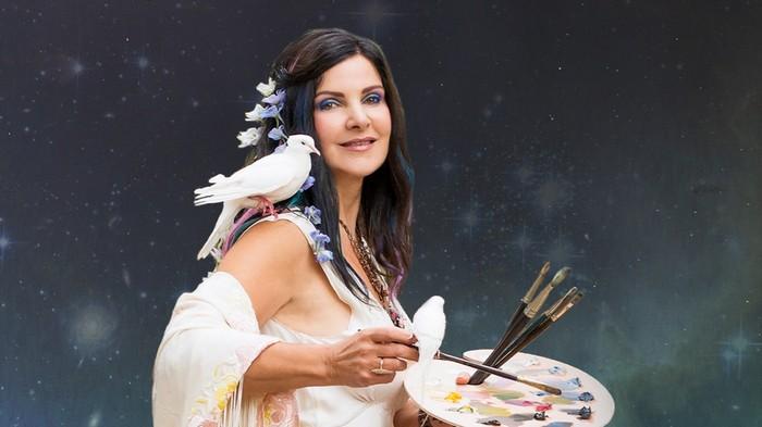 Concetta Antico, si pelukis yang punya kekuatan super bisa melihat ratusan juta warna. Foto: concettaantico.com