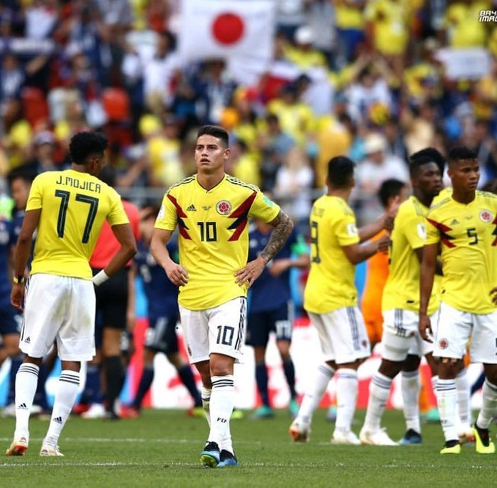 Ia merupakan gelandang serang andalan Tim Nasional Kolombia di Piala Dunia 2018. Foto: Instagram @jamesrodriguez10