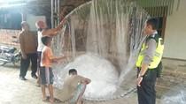 Disita Polisi, 30 Balon Udara Gagal Diterbangkan di Trenggalek