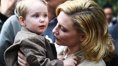 Foto: Ignatius Iggy Upton, Putra Cate Blanchett yang Menggemaskan