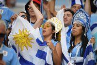 Suporter dari berbagai belahan dunia datang ke Rusia untuk menonton Piala Dunia 2018 (Getty Images)